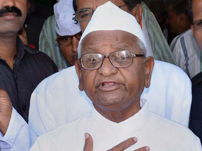 Anna Hazare Writes To PM Modi, Complains Of Being Ignored