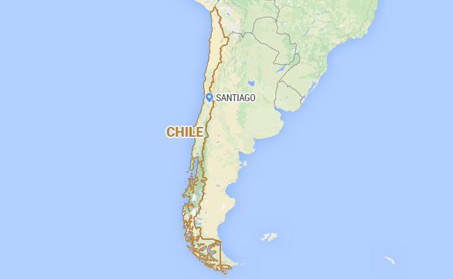 A strong 6.9-magnitude earthquake struck off the coast of central Chile