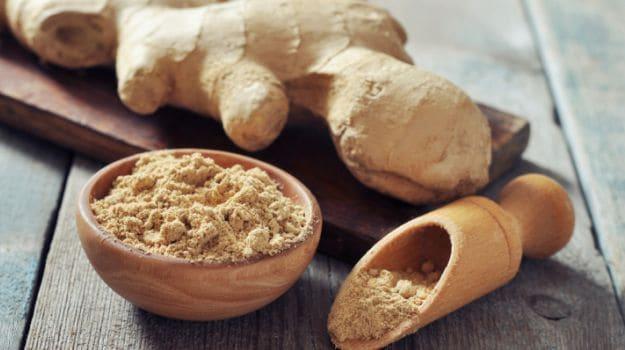 ginger and ginger powder