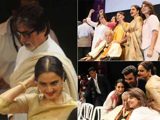 10 Moments From Shashi Kapoor's Award Ceremony. These Photos Are For Keeps