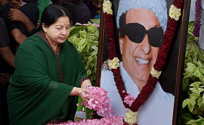 Image result for MGR with Jayalalitha