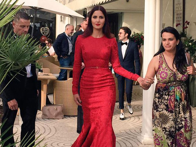Cannes Film Festival: Katrina Kaif 's Second Red Carpet Look is Scarlet Elie Saab