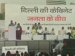 In Public Cabinet Meeting Arvind Kejriwal Vows to Take Back Powers From Centre: 10 Facts