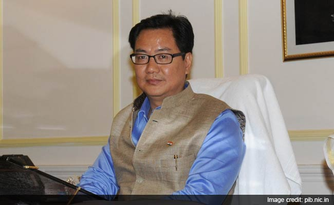Minister Kiren Rijiju Says Sorry to Passengers Offloaded So He Could Fly