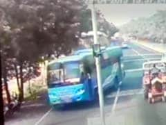Caught on Camera: Bus Brazenly Violated Rules Minutes Before Punjab Teen Was Pushed Off It