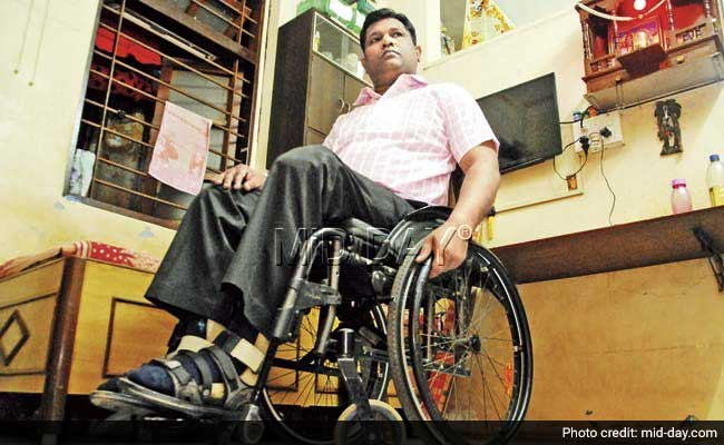 BMC Wants Handicapped Fireman to Give Physical Test for Promotion