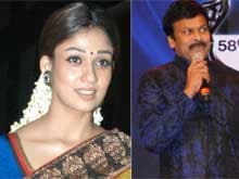 Chiranjeevi's Heroine in 150th Film May be <i>Nayanthara</i>