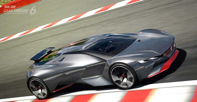 Peugeot Designs a Car That's Faster Than an F1 Car