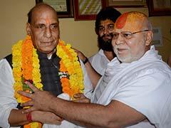 No Majority in Rajya Sabha, Can't Pass Law for Ram Temple: Rajnath Singh
