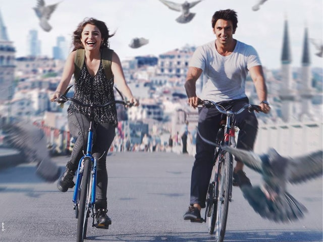 Dil Dhadakne Do. Ranveer, Anushka do Just That in New Poster