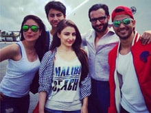 Saif Ali Khan, Kareena Kapoor Holiday With Family in Maldives