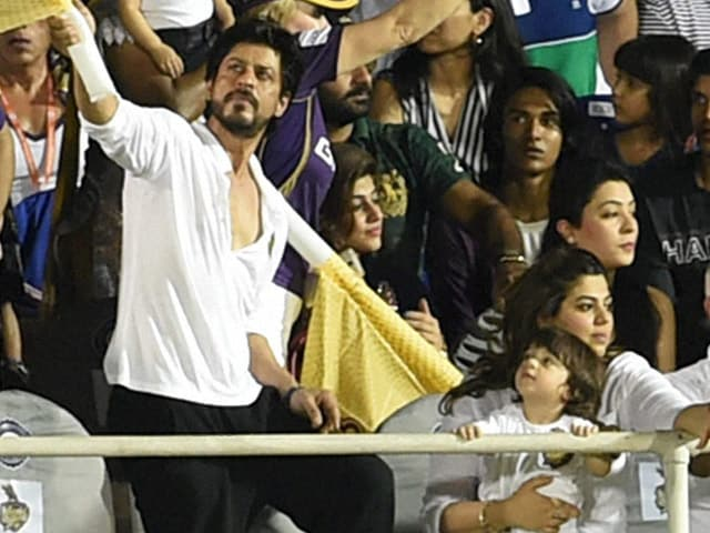 Shah Rukh Khan's Hilarious Reply When AbRam Asked Him Why KKR Lost