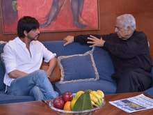 Shah Rukh Khan Tells Mufti Mohd Sayeed he Wants to Shoot in Kashmir Again