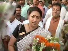 Rahul Gandhi is Following in My Footsteps, Union Minister Smriti Irani Says in Amethi