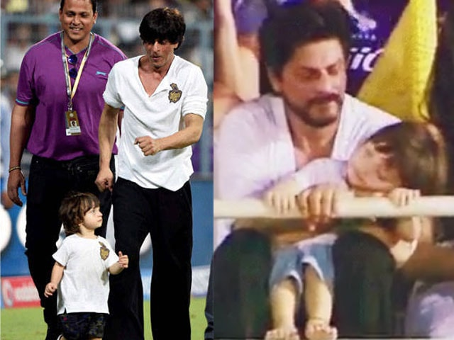 This Shah Rukh Khan, AbRam Moment is All You Need to See Today