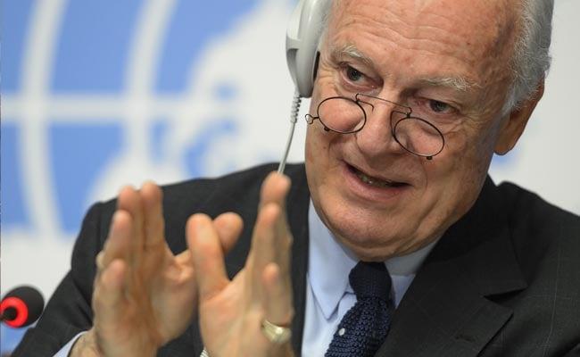 UN Syria Envoy Heads To Saudi Arabia, Iran