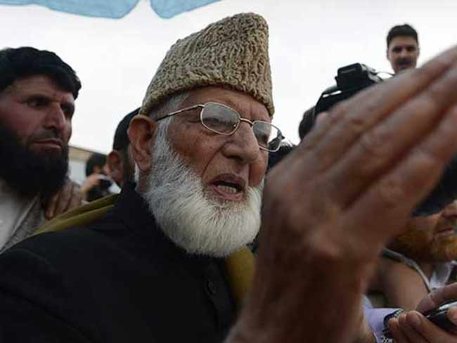 ISIS Does Not Represent Islam: Syed Ali Shah Geelani
