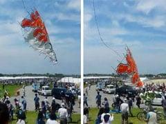 700-Kilogram Kite Crashes Into Crowd in Japan, 4 Injured
