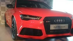 Audi Launches the RS6 Avant; Priced at Rs. 1.35 crore
