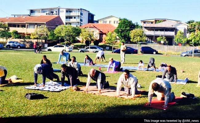 Australia Marks International Yoga Day