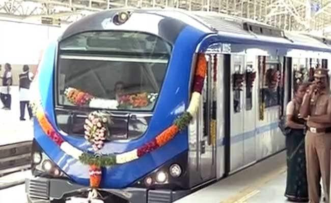 Jayalalithaa Launches 10 kms of Chennai Metro