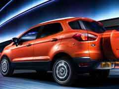 Ford To Recall 48,700 EcoSport SUVs In India