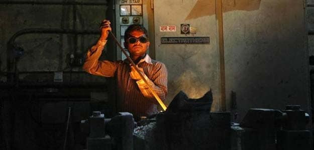 Industrial Output Suffers Sharpest Fall in Over 4 Years
