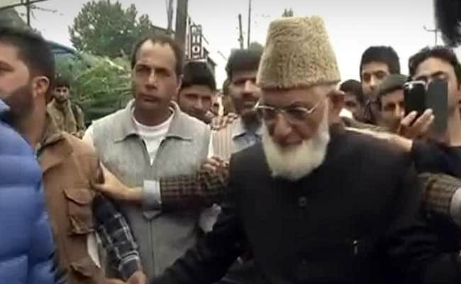Not Against Friendly India-Pakistan Ties, Says Syed Ali Shah Geelani
