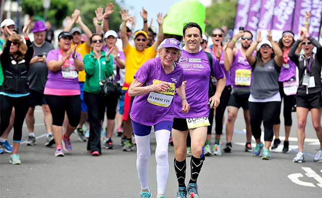 Grandma, 92, Sets Record for Oldest Woman Marathoner