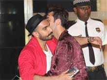 Ranbir Kapoor, Ranveer Singh and a Jadoo Ki Jhappi at Arjun's Party