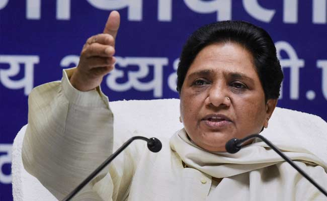 Mayawati Criticises Mohan Bhagwat's Remarks on Quota Regime
