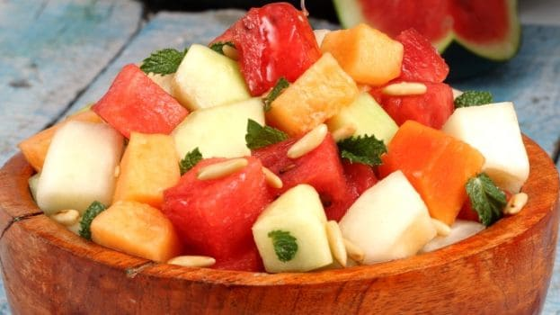 melon salad with mint 625