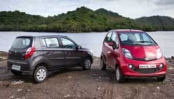 Tata GenX Nano AMT vs Maruti Suzuki Alto K10 AMT: The Affordable AMTs