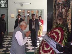 PM Narendra Modi Visits Bangabandhu Museum in Dhaka