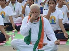 'In a World of Fear, Yoga Gives Courage,' says PM Modi