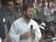 'We're Not From BJP, Don't Say Murdabad,' Rahul Gandhi to tribals in Chhattisgarh