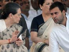 Sonia Gandhi, Rahul Gandhi, Priyanka Gandhi Return From Trip Abroad