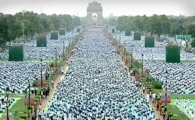 International Yoga Day: Record-Breaking Event at Rajpath