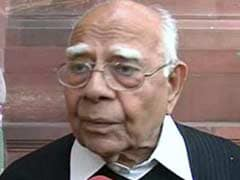 Ram Jethmalani, Grand Alliance Candidates File Nominations For Rajya Sabha Polls
