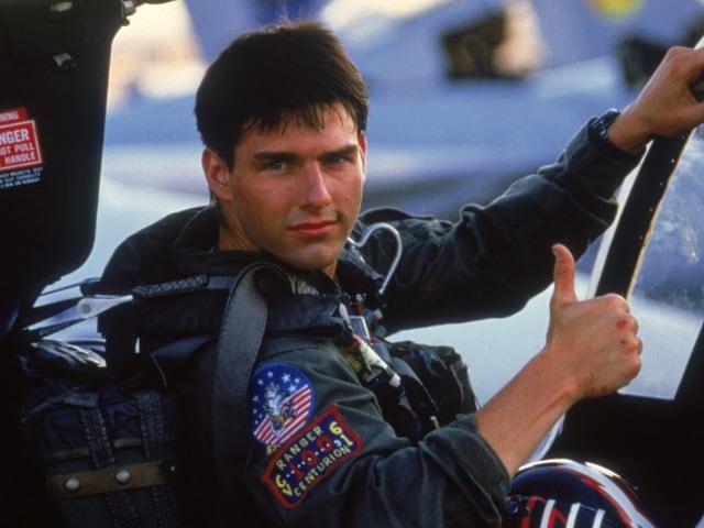 Tom Cruise in Top Gun ...