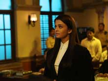 Aishwarya Rai Bachchan Braves Fever to Film Jazbaa