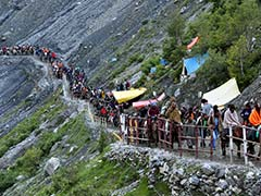 Fresh Batch of 57 Pilgrims Leaves for Amarnath