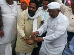 Anna Hazare Supports Farmers' Movement Launched by Swaraj Abhiyan