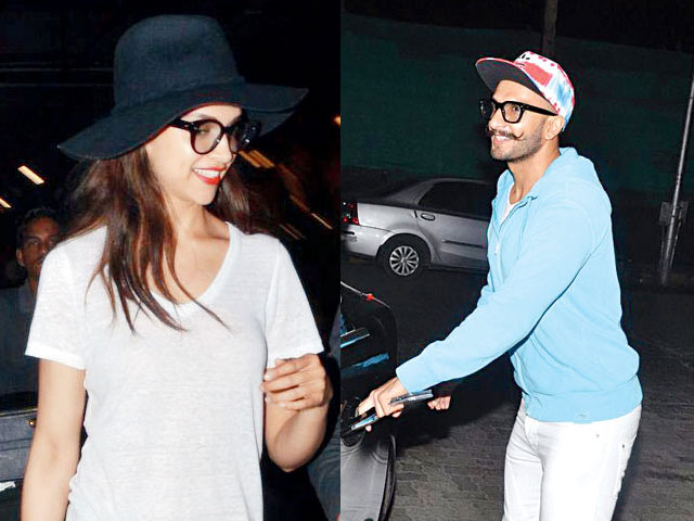 Image result for ranveer and deepika airport pic