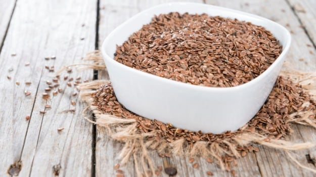 Flaxseeds are great for women's health.