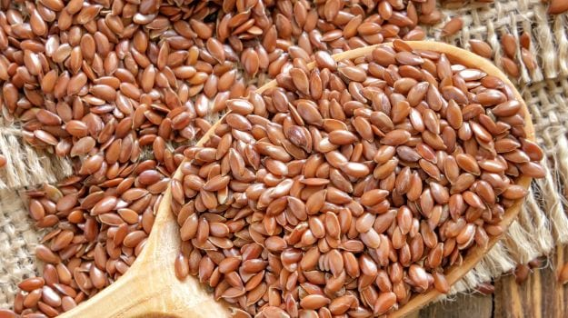 Fiber Rich Foods - Flax Seeds
