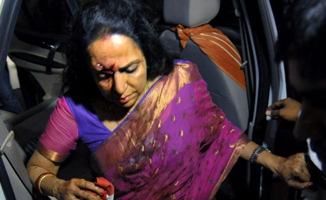 Hema Malini Criticised for Leaving Without Reaching Out to Victims; Calls Accident 'Most Unfortunate'