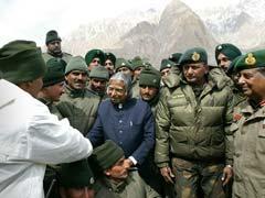 When President APJ Abdul Kalam Visited Jawans at Siachen