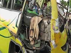 25 Dead, 19 Injured as Bus Collides With Truck in Madhya Pradesh's Khandwa