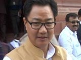'Security Gaps' Led To Terror Attack In Punjab: Kiren Rijiju